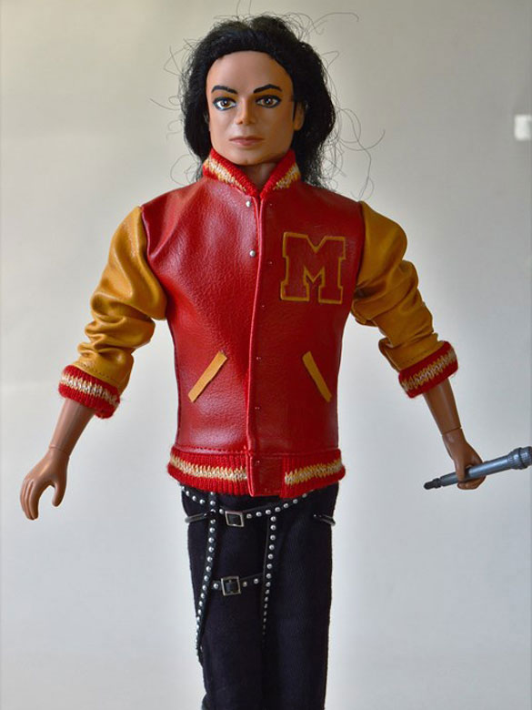 Michael Jackson Doll Thriller Werewolf Jacket